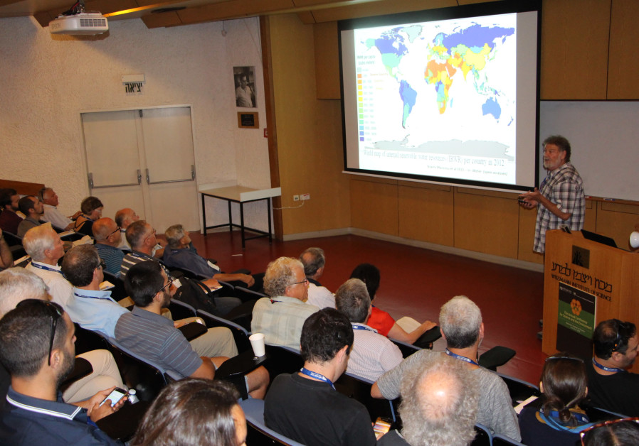 KKL-JNF Attends Annual Conference for Science and Environment