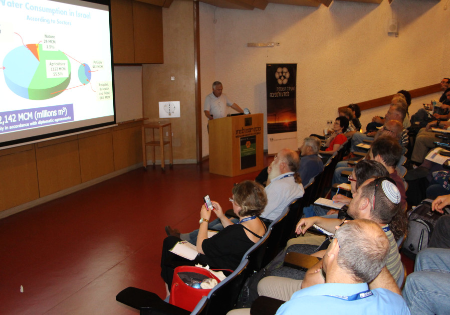 KKL-JNF Attends Annual Conference for Science and Environment (Credit: KKL-JNF)