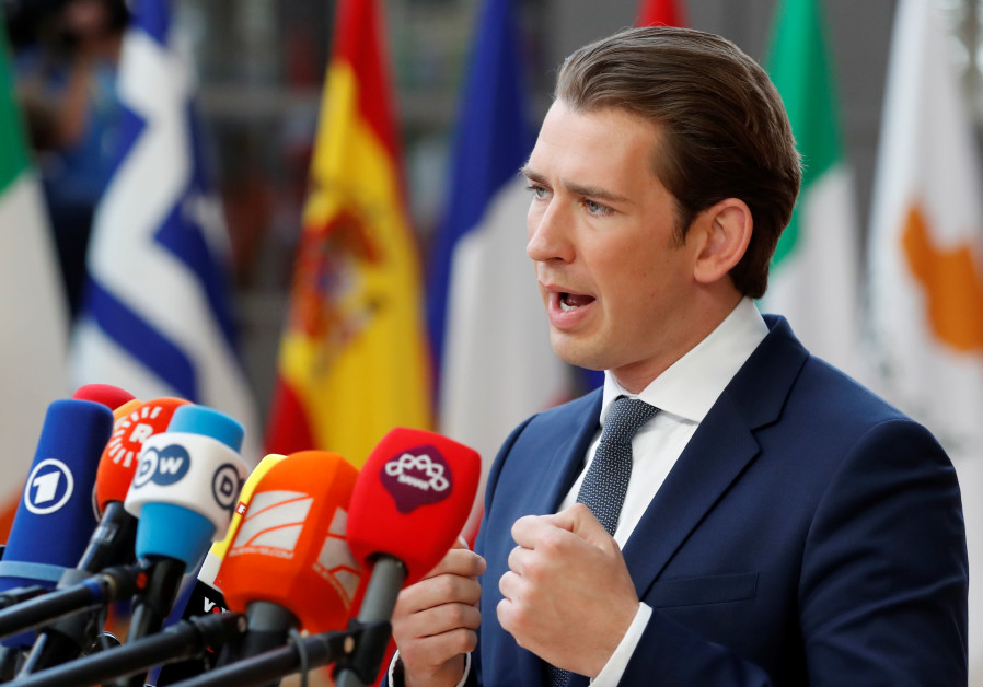 Austria's Kurz under fire for planned Rouhani meeting
