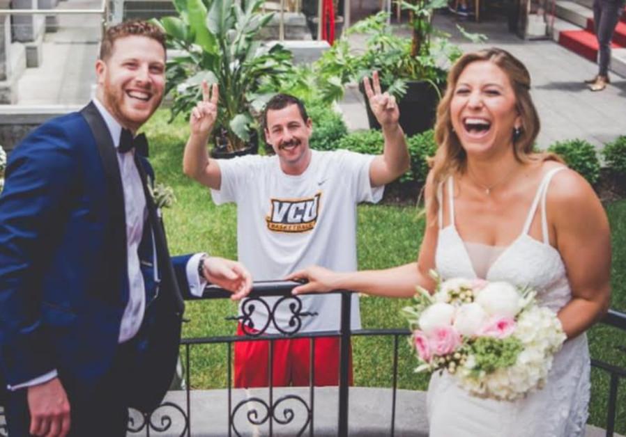 Adam Sandler crashes Jewish wedding in Montreal