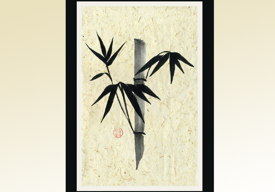 BAMBOO INK painting by Irith Freedman