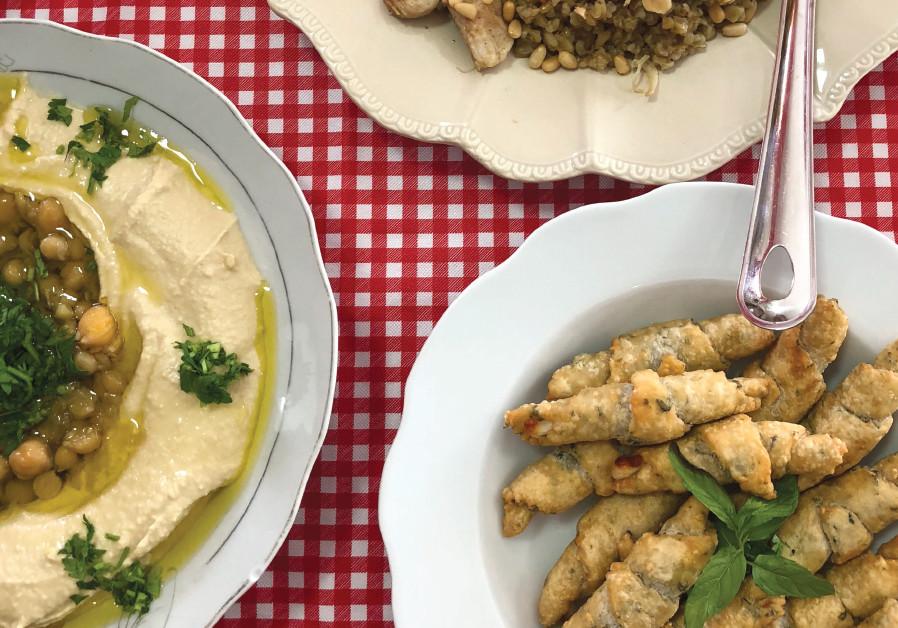 AUTHENTIC DRUZE cuisine prepared by Maha Amar