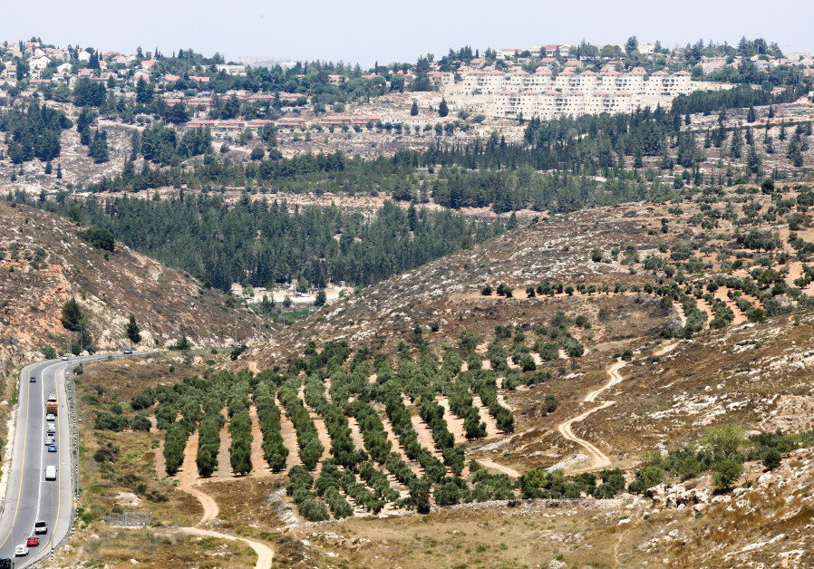 A VIEW of the settlement of Eli, in Samaria. Yesha Council deputy head Yigal Dilmoni said yesterday