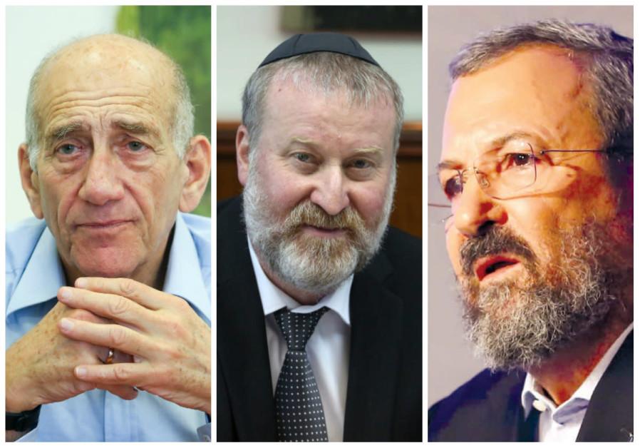 Former PMs gang up on Mandelblit