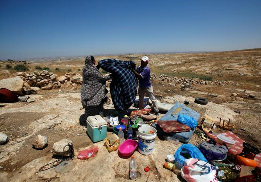 Israel declares Khan al-Ahmar a closed military zone during European visit