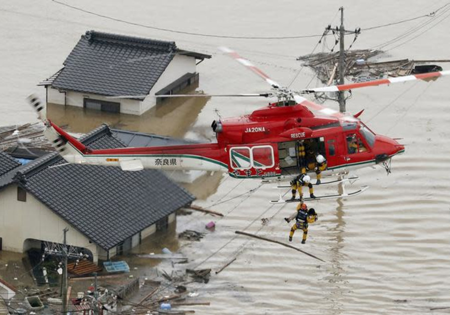 Israeli emergency response team heads to Japan floods