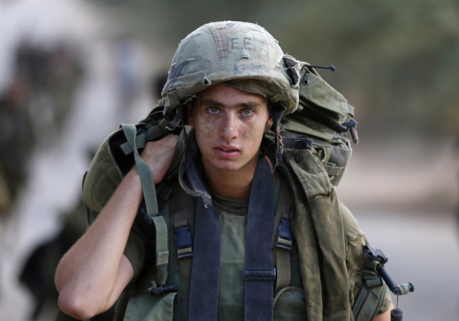 400 IDF soldiers return medals received in Operation Protective Edge
