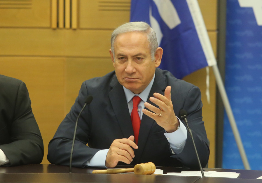 Netanyahu decries security cabinet leaks