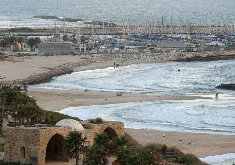 A view of the Ashkelon beachfront