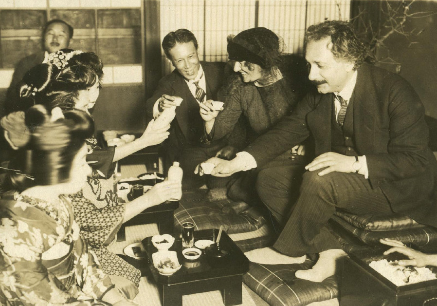 ALBERT EINSTEIN in Japan in 1922