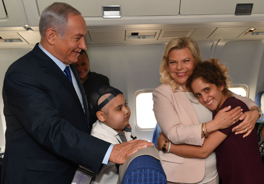 Netanyahu surprises two kids battling cancer with trip to World Cup game