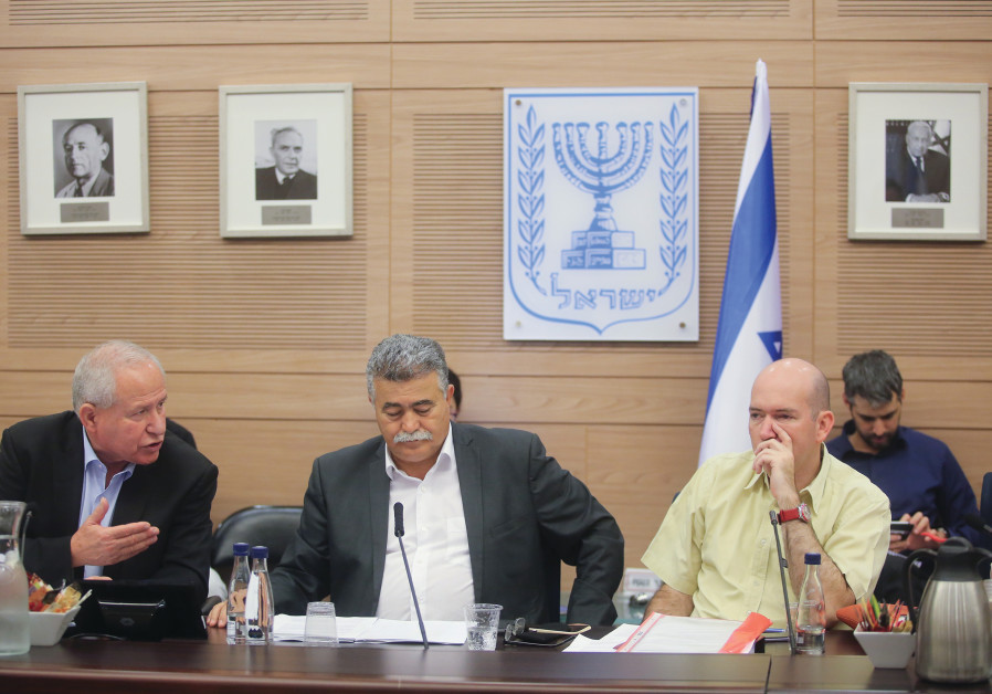 FOREIGN AFFAIRS  and Defense Committee's  Home-Front Readiness Subcommittee chairman  Amir Peretz