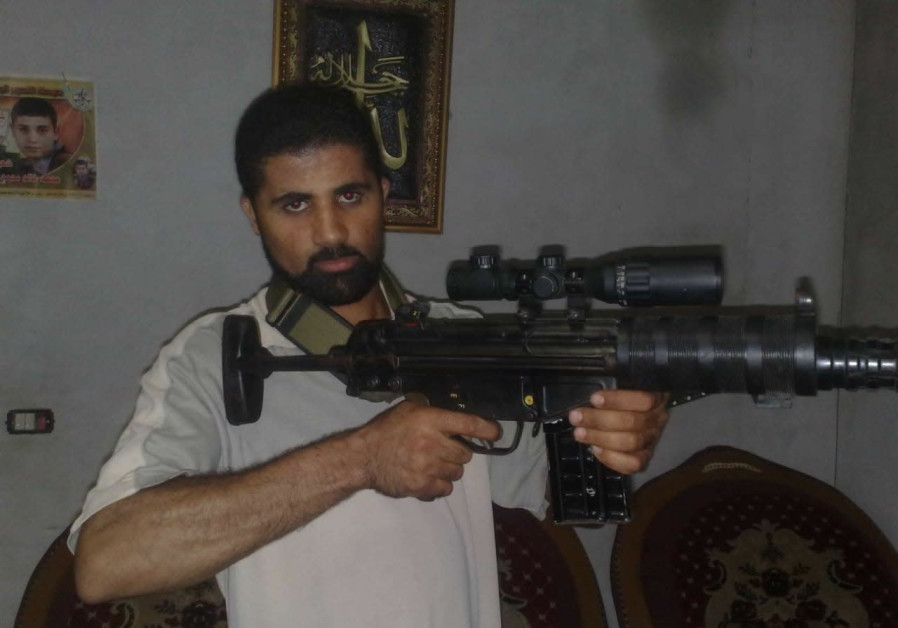Ahmad Mansour Hassan, the Al-Aqsa Marty'r Brigade Commander killed in an explosion July 15, 2017