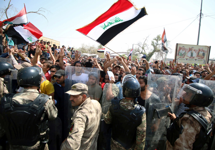 Mass protests sweep Iraq, target pro-Iran militias and parties