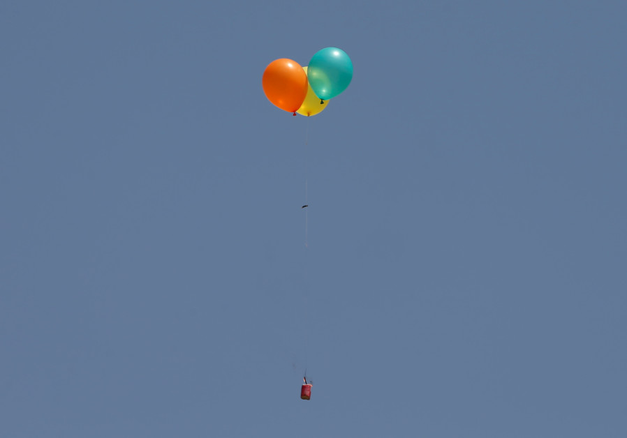 IDF strikes Gaza terror cell launching incendiary balloons into Israel