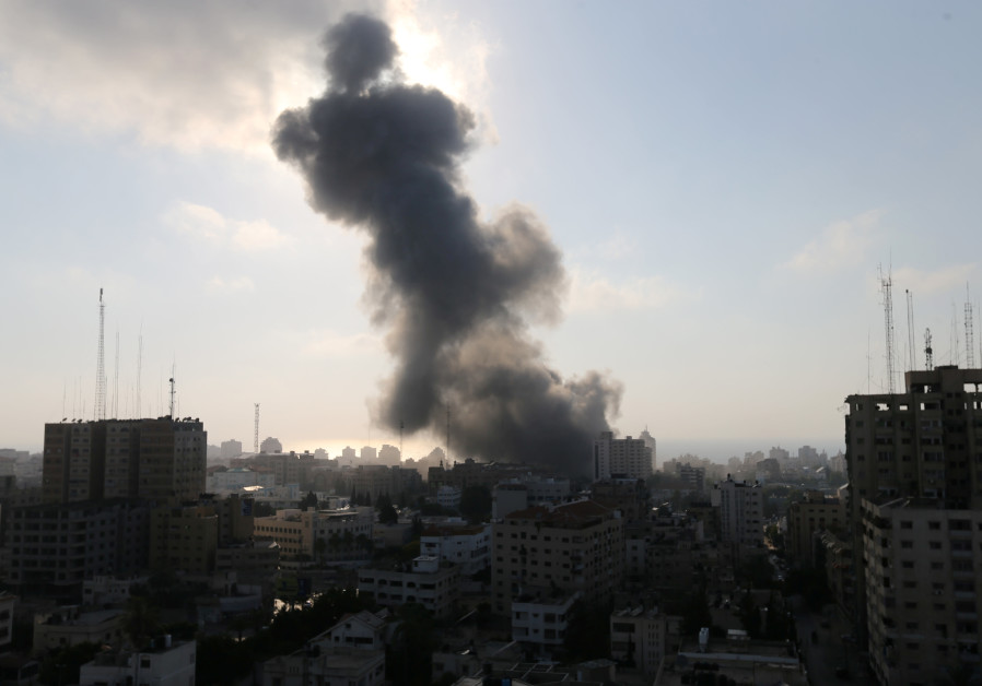 IDF strikes Gaza terror cell for second time in 24-hours