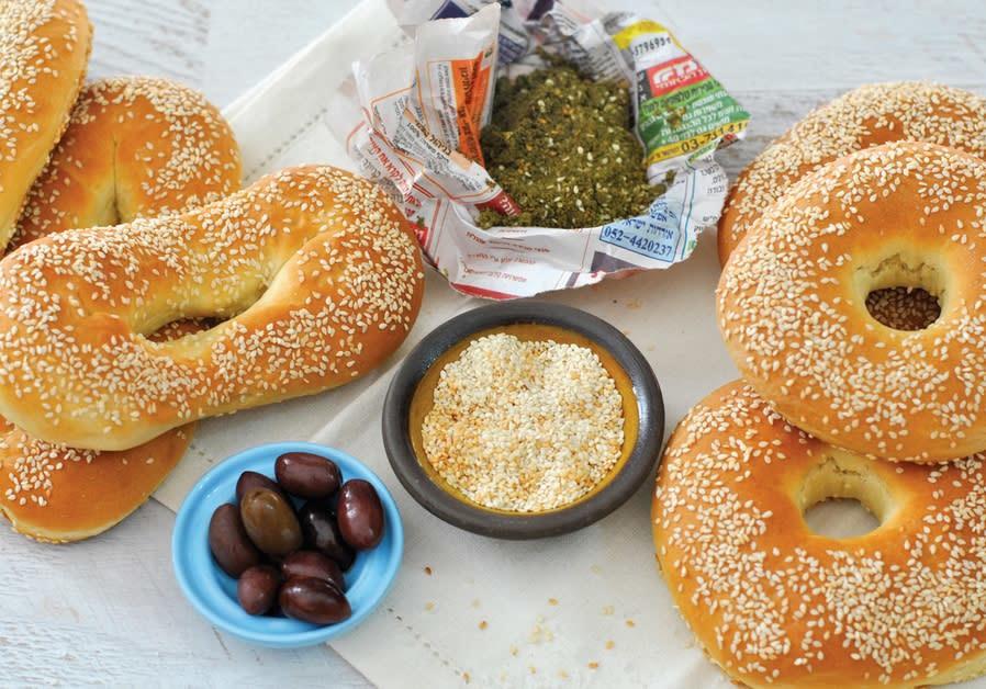 Jerusalem pretzels