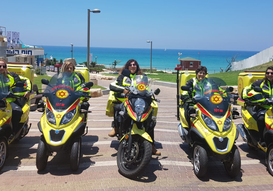 Meet Magen David Adom's female motorcyclists