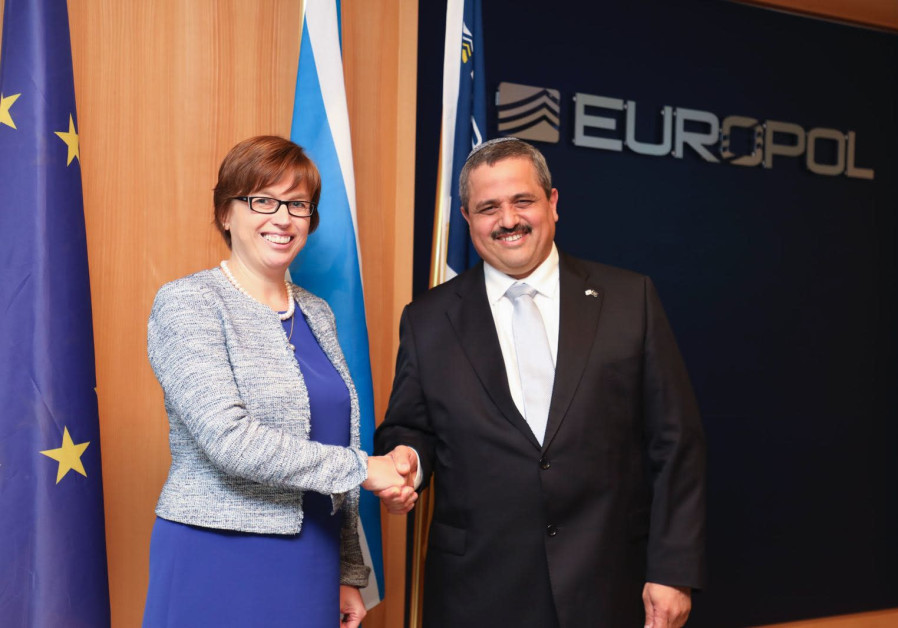 Israel Police Commissioner Ins. Gen. Roni Alsheich and Catherine De Bolle, Exec. Director of Europol