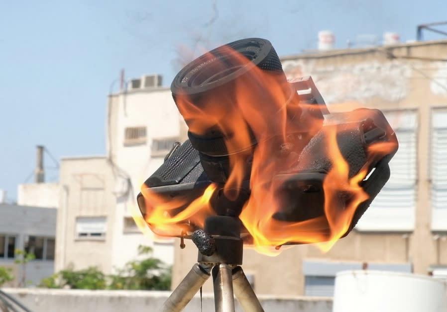 BEZALEL BEN CHAIM's 'Burning Camera':