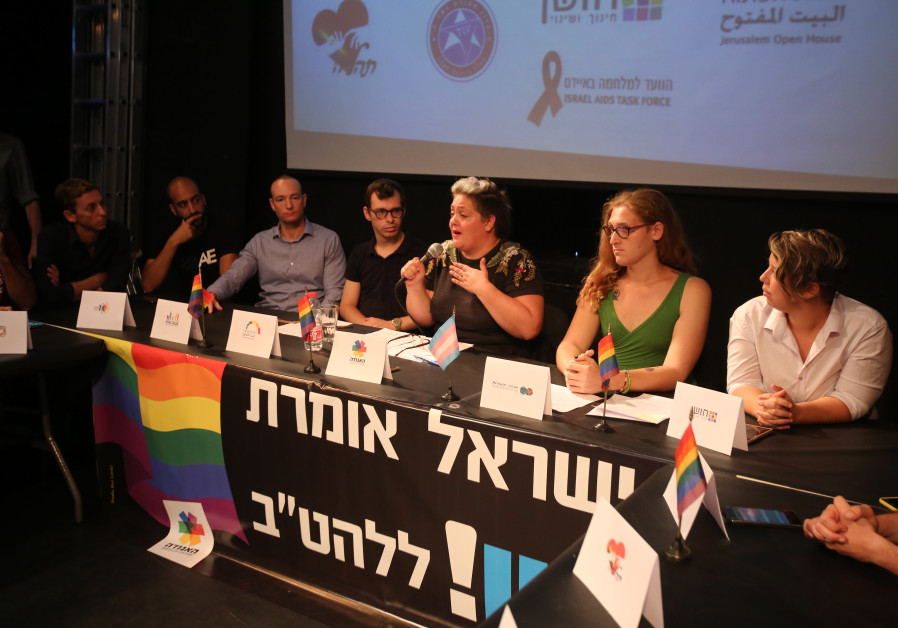 Leaders of LGBT organizations present demands for equal rights