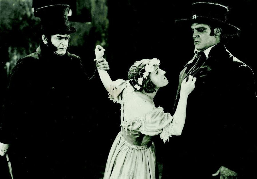 A SCENE FROM the 1925 film 'Les Miserables'