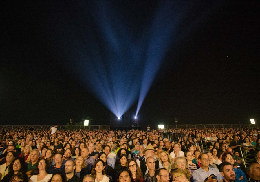 Jerusalem Film Festival opening event at Sultan's Pool, July 28, 2018