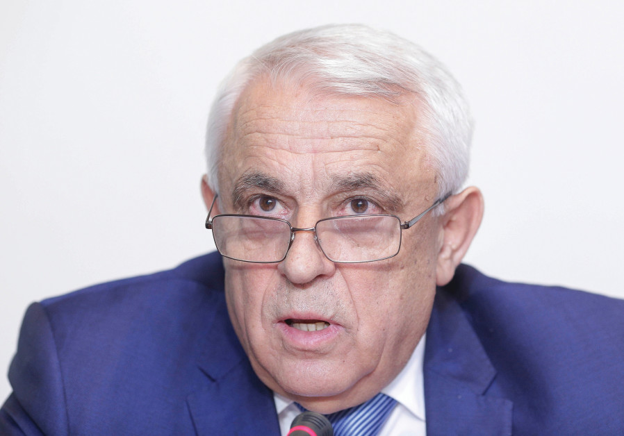 Romani'a's agriculture minister Petre Daea speaks during a news conference in Bucharest, Romania