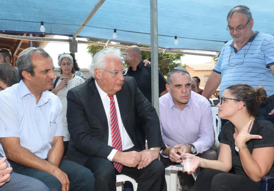 Tal Ovadia (R), Oded Rivivi (C), David Friedman (L)
