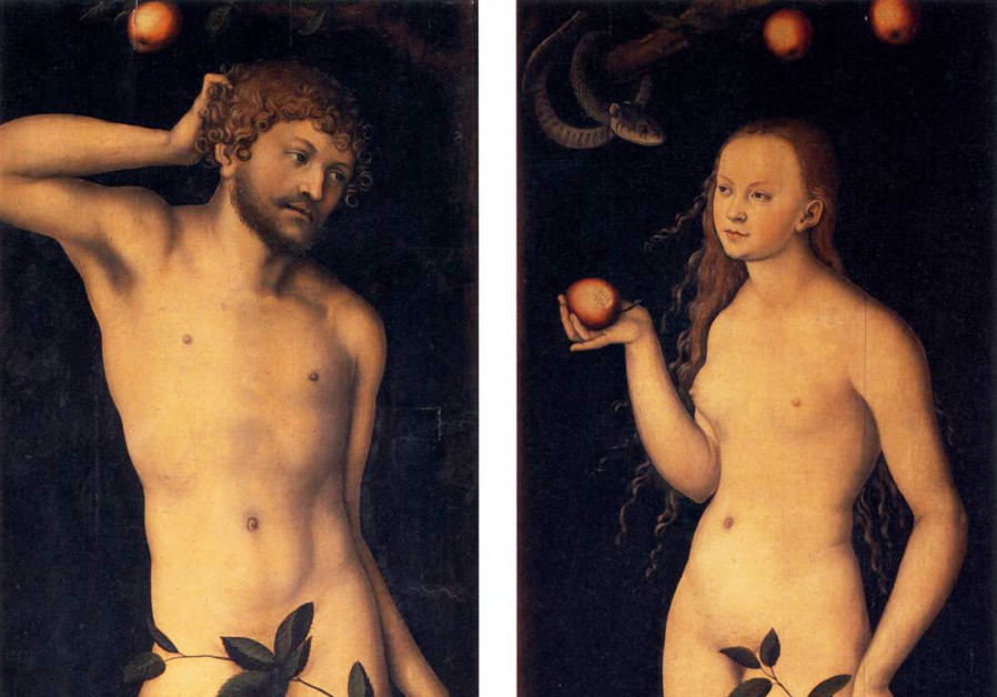 Lucas Cranach the Elder, Adam and Eve (Credit: Wikimedia Commons)