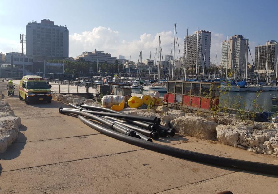 Te Tel Aviv marina, July 30, 2018