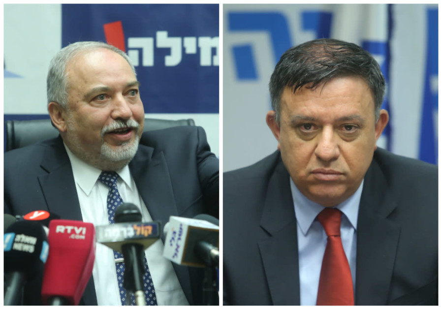 Liberman, Gabbay fight over Labor's future on Twitter