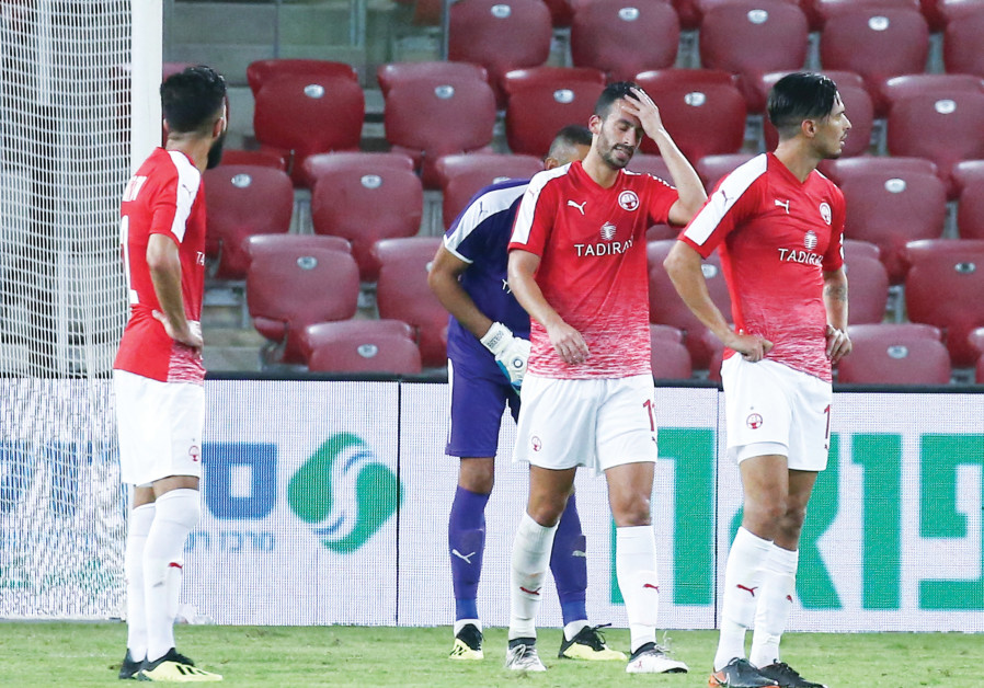 Hapoel Beersheba dug itself too deep in the Champions League second qualifying round matchup