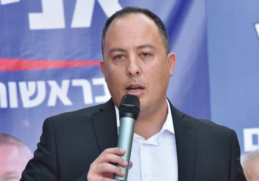 JERUSALEM MAYORAL candidate Avi Salman