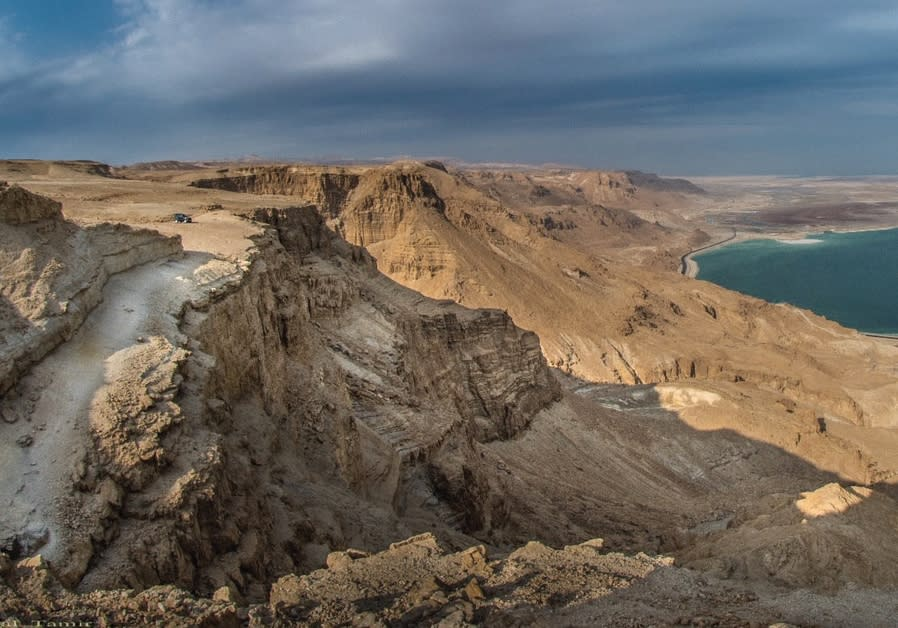 A BREATHTAKING view of the Dead Sea and the Judean Desert can be seen while guided jeep tour with Te