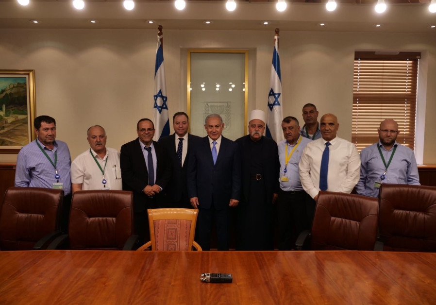 Druze leaders, Netanyahu discuss agreement to end Nation-State row