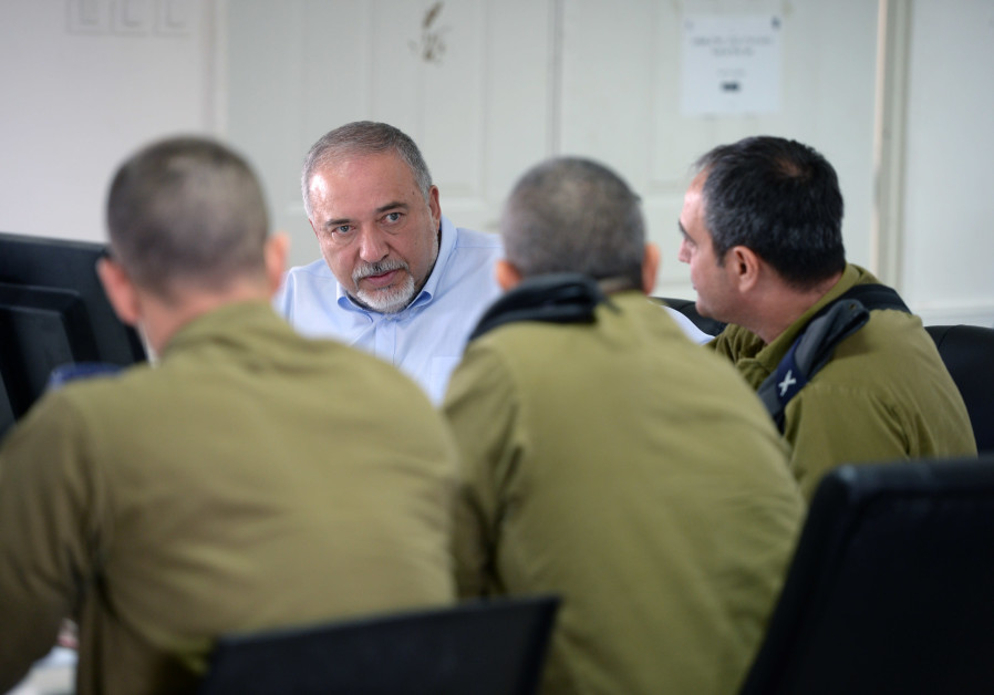 Defense Minister Avigdor Liberman  Thursday, August 2.