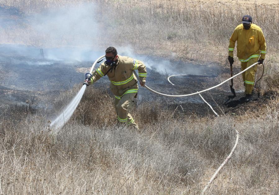 The firefighters' brotherhood: U S  volunteers battle flames in