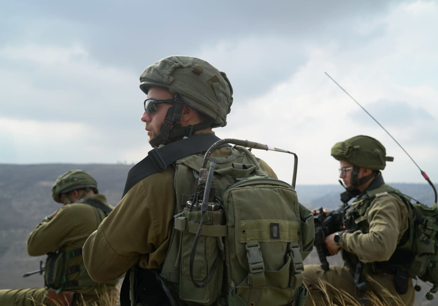 IDF troops scour area in southern Golan Heights following IAF airstrike on ISIS
