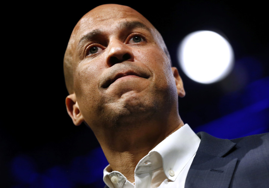 Pro-Palestinian activists interrupt Newark campaign rally for Cory Booker