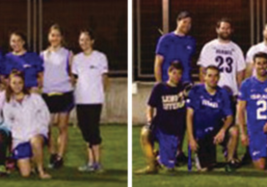 THE ISRAEL men's and women's national flag football teams