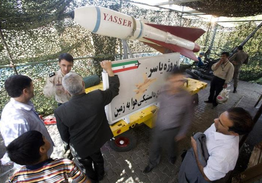 Iran's power play shows depth of missile threat