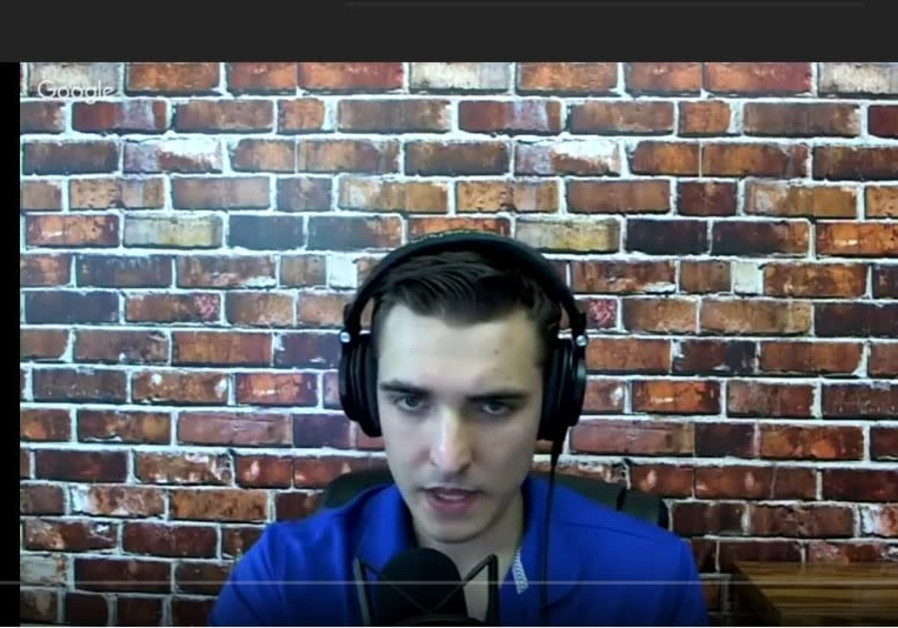 Jacob Wohl, Jewish Trump supporter, on his YouTube channel.