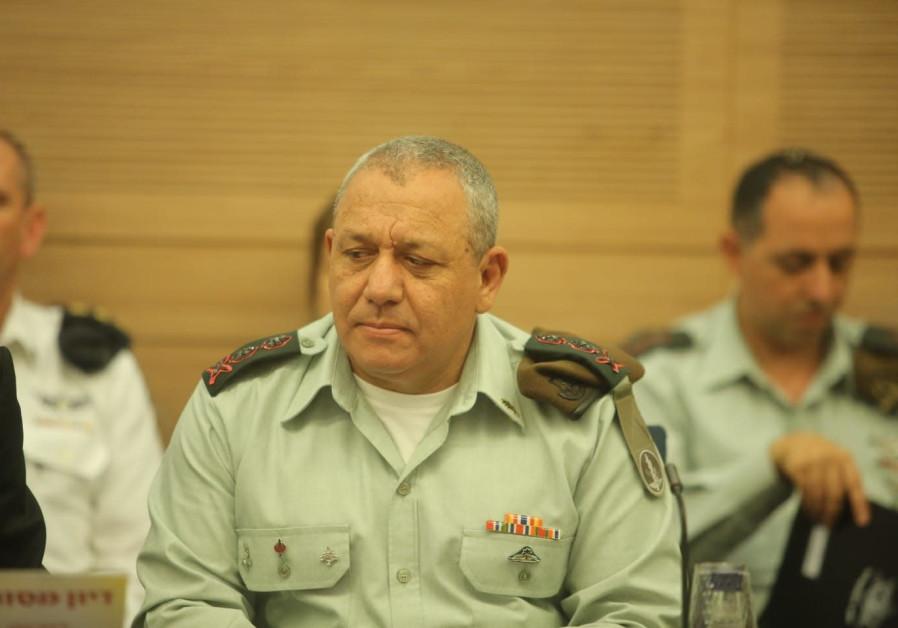 Gadi Eizenkot IDF Chief of Staff Lt.-Gen. August 8, 2018.