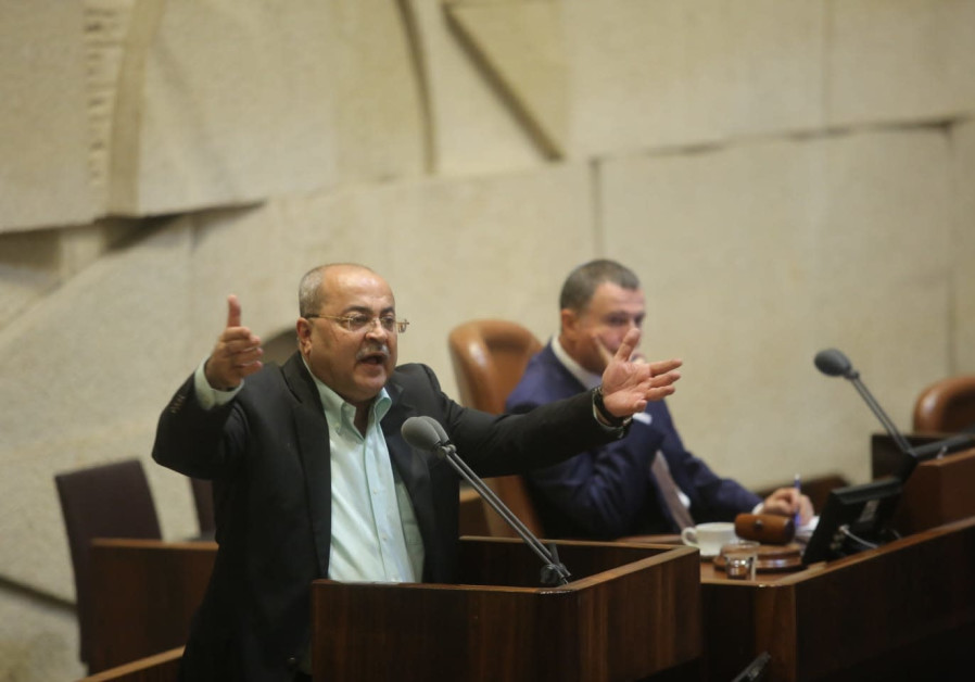 MK Ahmad Tibi (Joint List) at the Knesset August 8, 2018.