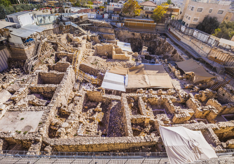 Excavations at the Givati Parking Lot in the City of David (Credit: Kobi Harati/City of David)