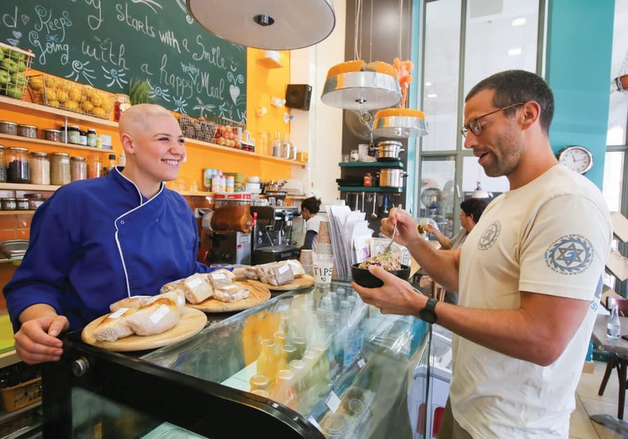CHEF CHANAH AUERBACH (at Jerusalem's Natural Choice café) believes knowledge on the benefits of a pr