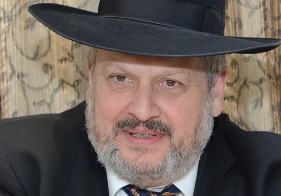 Deputy Mayor Haim Epstein