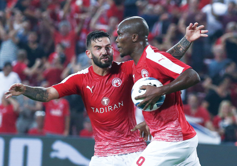 HAPOEL BEERSHEBA rallied from an early two-goal deficit to earn a 2-2 first-leg draw with APOEL