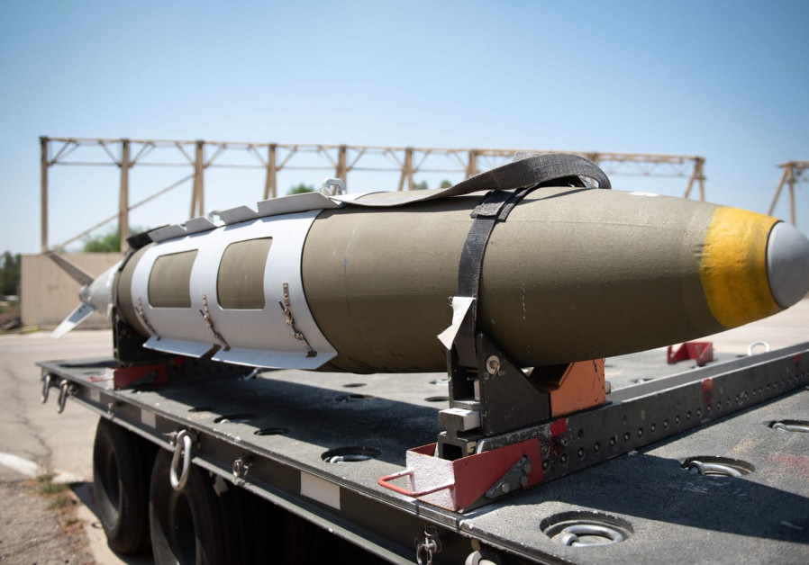 Rocket used by the IAF during tensions at Gaza border in August 2018